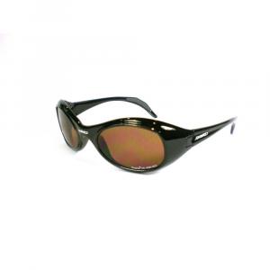 BRIKO VINTAGE Unisex Sports Sunglasses Twin Shield Black