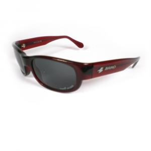 BRIKO VINTAGE Unisex Sports Sunglasses Shiny Red
