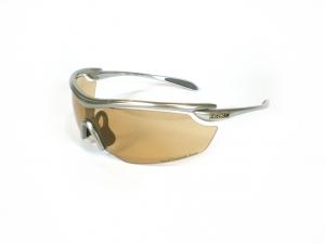 BRIKO VINTAGE Sports Silver Glasses Unisex Endure Pro Matik