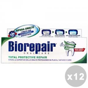 BIOREPAIR Set 12 Toothpaste Fast Protective 75Ml Repair Oral Hygiene