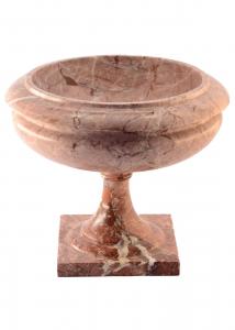 Marble Riser Diameter 30Cm Ornamental HandCarved Italian Craftsmanship