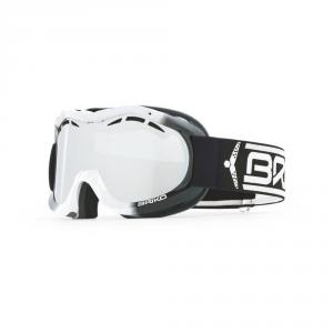 BRIKO Junior Downhill Ski Mask Antifog Treatment Jr Cup Black White