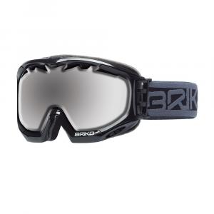 BRIKO Mask For Downhill Skiing And Snowboard Kombact Unsiex Shiny Black