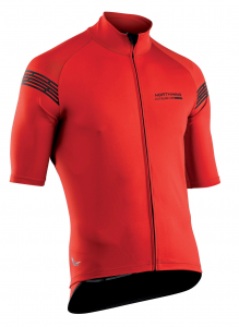 NORTHWAVE Man short sleeve light jacket EXTREME H20 - red total protection