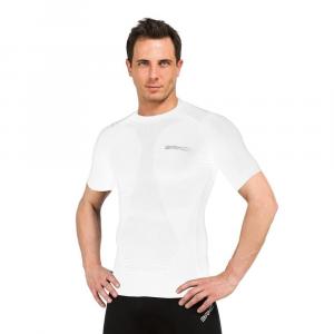 BRIKO Muscle Compression T-Shirt Unisex White Underwear Sports