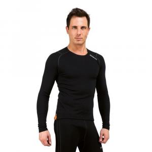 BRIKO Breathable Winter Long Sleeve Jersey Corelight Black Man