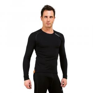 BRIKO Breathable Winter Long Sleeve Jersey Corewarm Black Man
