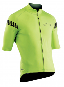 NORTHWAVE Man short sleeve light jacket EXTREME H20 -yellow total protection