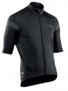 NORTHWAVE Man short sleeved jacket EXTREME H20 - black total protection