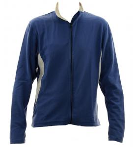 BRIKO Sweater Nording Walking Man With Zip Kola X-C Microfleece Blue