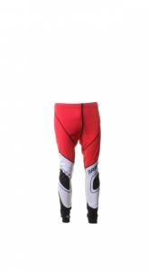 BRIKO VINTAGE Cross-Country Long Trousers Skiing Man Katana Red Black
