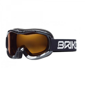 BRIKO Mask For Downhill Skiing With Antifog Lenses Junior Black Mini Beetle