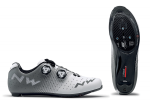 NORTHWAVE Men's road cycling shoes REVOLUTION gray white