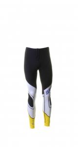 BRIKO VINTAGE Long Trousers For Cross-Country Skiing Man Katana Black Yellow
