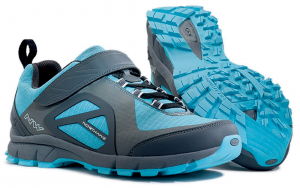 NORTHWAVE Freeride MTB woman shoes gray blue ESCAPE WOMAN EVO anthracite