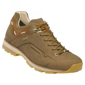 GARMONT Miguasha NUBUCK GTX Goretex trekking shoes low beige / blue woman