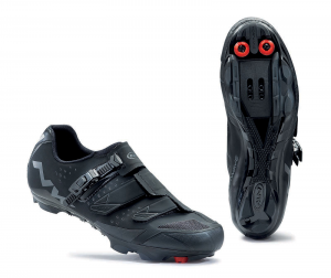 NORTHWAVE Man MTB XC shoes SCREAM SRS black
