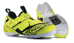 NORTHWAVE Man spinning shoes MULTI-APP fluo yellow