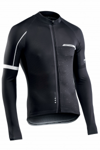 NORTHWAVE Man cycling jersey long sleeves BLADE2 black