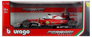 BBURAGO Scuderia Ferrari SF16 H 1/18 Rally car kit Racing Model toy child 407
