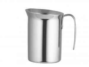 BIALETTI Italian Milk Jug Inox Steel Elegance Cl 100 Kitchenware Made in Italy