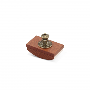 BORTOLETTI wooden blotter - medium size artistic writing handmade Made in Italy