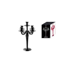 H&H Candlestick 5F V/Black 31 Furniture And Home Decorations Italian Design