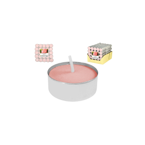 H&H 17 X 25 Tealights Prof Pink Candles And Home Decorations Italian Design