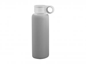 H&H Pack 3 Bottle borosilicate / Gray Silicone cap Plastic 0.36 Cl Italian Style
