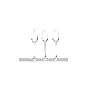 H&H Pack 6 Goblets Magnum Grappa Cl 7.5 Glasses And Wine Glasses Italian Design
