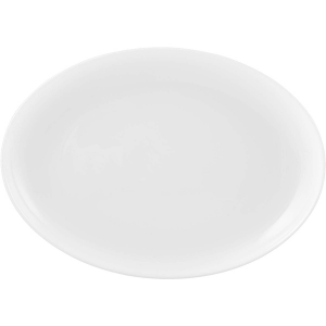 H&H Plate Opal Premiere Oval 33 Cm Dishes Italian Design Exclusive Brand Italy