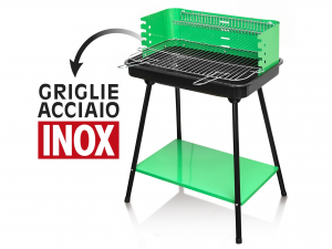HOME Barbecue Coal 58X42H80.4 With Plan Camping Picnic Exclusive Italian Design