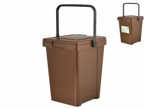 HOME Container Wet Minmax + LT25 Brown bins and garbage Exclusive Italian Design