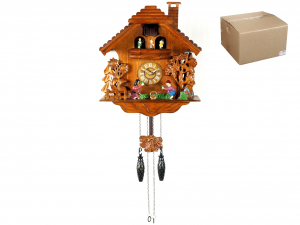HOME Clock Wooden Cuckoo Carousel 28 Exclusive Brand Design Made in Italy