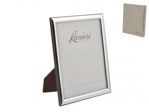 HOME silver photo frame 15x20 cm Exclusive Brand Design Made in Italy