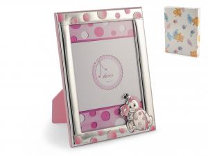 HOME Photo frame 13X18 cm Pink Ladybugs Model 580 / 2L Exclusive Italian Design
