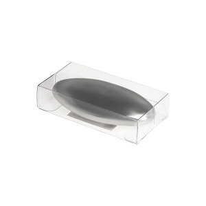 HOME PROFESSIONAL Pack 8 Soap stainless steel Oval Bathroom Top Italian Brand