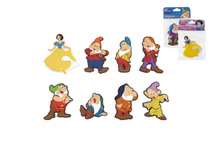 HOME Pack 12 Magnets Disney Dwarfs Objects Exclusive Brand Design Made in Italy