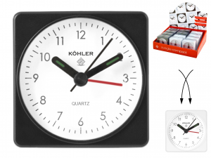 HOME Pack 12 Compact Quartz Clocks Exclusive Brand Design Made in Italy