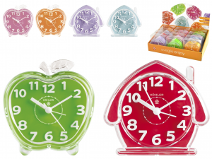 HOME Pack 12 Alarm Clocks Quartz Enjoy 10 Exclusive Brand Design Made in Italy