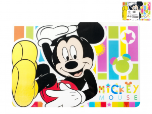 HOME Pack 12 Mats Polypropylene Mickey Spectrum Baby Exclusive Italian Design