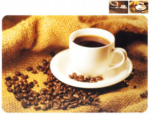 HOME Pack 12 Assorted Coffee Cups Placemats Polypropylene Baby Top Italian Brand