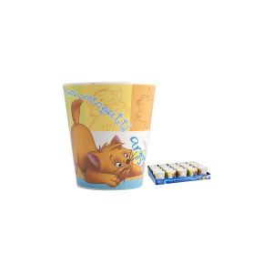 HOME Pack 20 Cups Melamine Aristocats Cc190 Exclusive Brand Design Made in Italy
