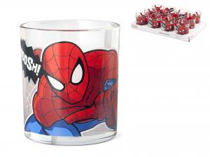 HOME Pack 24 Bicchieri Acqua Marvel Spiderman 25 cl Exclusive Italian Design