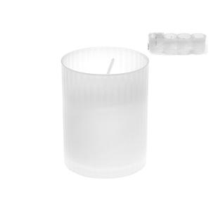 FEM Pack 24 x4 lumini votivi 46x62 Exclusive Brand Design Made in Italy