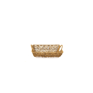 HOME Pack 6 rectangular woven baskets 27x21xh7 Storage boxes Top Italian Brand