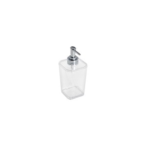 HOME Pack 6 Soap dispenser acrylic square Exclusive Brand Design Made in Italy