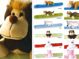 HOME Pack 6 Assorted Animals Draftstopper Objects Exclusive Italian Design Brand