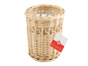 HOME Pack 6 Porta Breadsticks Wicker Cm 10.5X15 Jars Food Storage Containers Italy