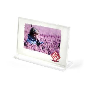 HOME Pack 6 Frames Horizontal Acrylic Plastic 13X9 Exclusive Italian Design
